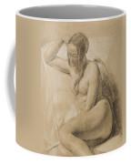 Seated Female Nude Coffee Mug