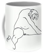 Seated Figure Coffee Mug