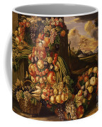 Seated Figure Of Summer, 1573  Coffee Mug