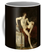 Seated Gladiator Coffee Mug by Jean Germain Drouais