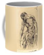 Seated Male Nude (sitzender M?nnlicher Akt) Coffee Mug