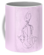 Seated Woman Coffee Mug