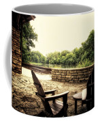 Seating For Two By The Creek Coffee Mug