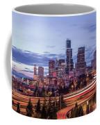 Seattle At Dusk Coffee Mug
