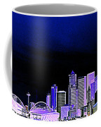 Seattle Blue 2 Coffee Mug