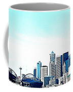 Seattle Blue Coffee Mug