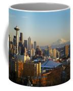 Seattle Cityscape Coffee Mug