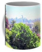 Seattle From A Hill Coffee Mug