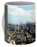 Seattle From Above Coffee Mug