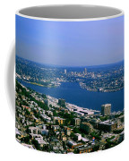 Seattle From Space Needle Coffee Mug