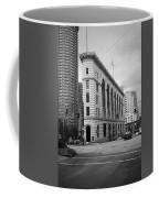 Seattle - Misty Architecture 2 Bw Coffee Mug