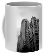 Seattle - Misty Architecture 3 Bw Coffee Mug