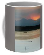 Seattle Shilshole Bay Sunset  Coffee Mug