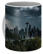 Seattle Skyline - Dramatic Coffee Mug