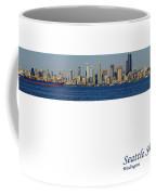 Seattle Skyline From Alki Coffee Mug