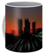 Seattle Skyline Motion Coffee Mug