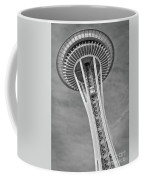 Seattle Space Needle Bw Coffee Mug