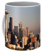 Seattle Sunset Panorama Coffee Mug