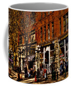 Seattle's Underground Tour Coffee Mug by David Patterson