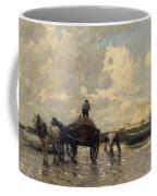 Seaweed Gatherers Coffee Mug by Terrick Williams