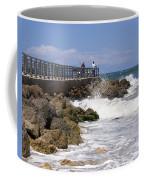 Sebastian Inlet In Florida Coffee Mug