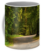 Secluded Forest Road Coffee Mug