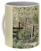 Secluded Historic Corral In Sonoran Desert Coffee Mug