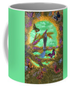 Secret Butterfly Garden Coffee Mug
