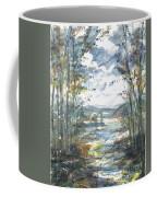 Secret Sailing Spot Coffee Mug by Reed Novotny