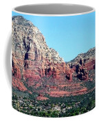 Sedona Arizona City Scape Coffee Mug