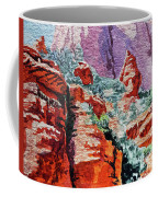 Sedona Arizona Rocky Canyon Coffee Mug