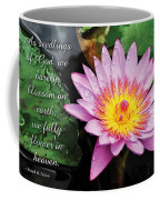 Seedlings Of God Coffee Mug by Denise Bird