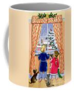 Seeing The Snow Coffee Mug by Lavinia Hamer