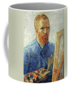 Self Portrait As An Artist Coffee Mug