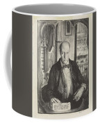 Self-portrait, First State By George Bellows 1882-1925 Coffee Mug