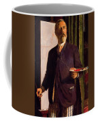 Self Portrait In Studio 1893 Coffee Mug