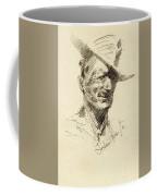 Self Portrait Of Frederic Remington Coffee Mug
