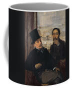 Self Portrait With Evariste De Valernes Coffee Mug
