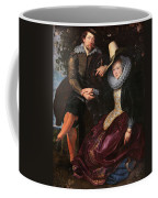 Self Portrait With Isabella Brandt, His First Wife, In The Honey Coffee Mug