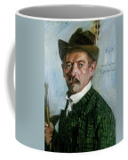 Self Portrait With Tyrolean Hat Coffee Mug