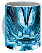 Self Reflection - Blue Coffee Mug