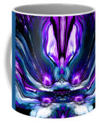 Self Reflection - Purple Blue Coffee Mug