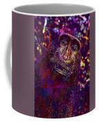 Selfie Monkey Self Portrait  Coffee Mug