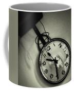 Selfportrait On A Clock Coffee Mug