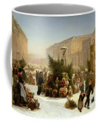 Selling Christmas Trees Coffee Mug by David Jacobsen