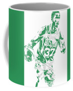 Semi Ojeleye Boston Celtics Pixel Art 2 Coffee Mug