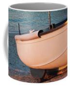 Sennen Cove Boat At Sunset Coffee Mug