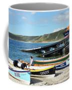 Sennen Cove Lifeboat And Pilot Gigs Coffee Mug