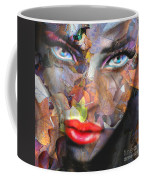 Sensual Eyes Autumn Coffee Mug