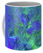 Sentimental Nature Abstract Coffee Mug